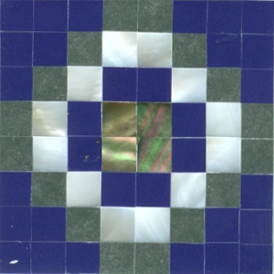 "Southwest Concho 2 Tile 2"" x 2"", 1 piece"